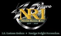 logo nri 40 years